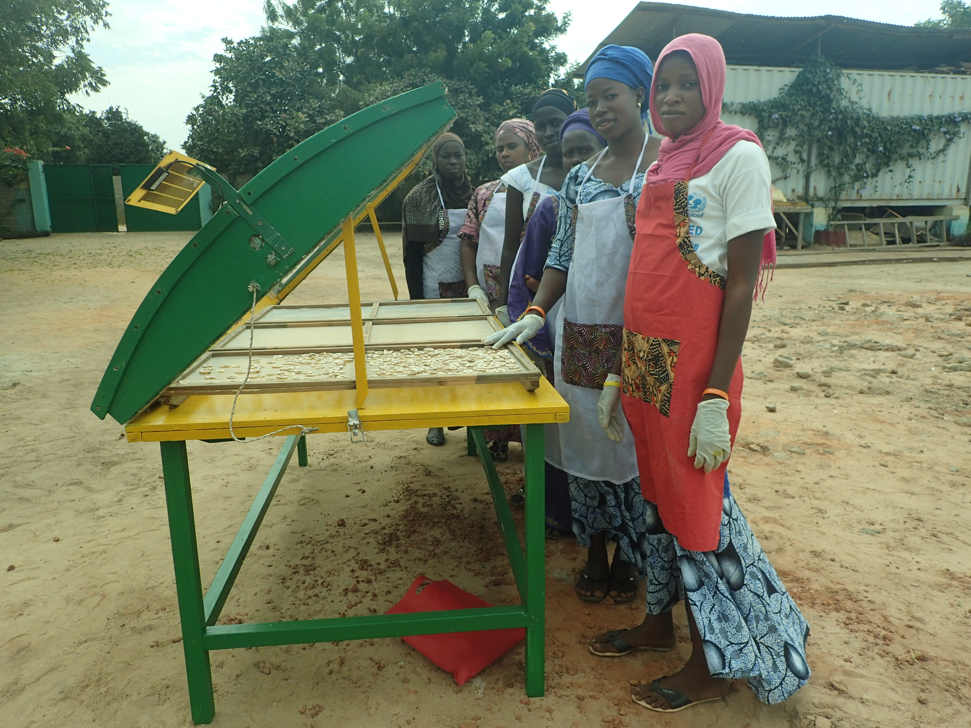 Building Solar Food Dehydrators In The Gambia By Whitney