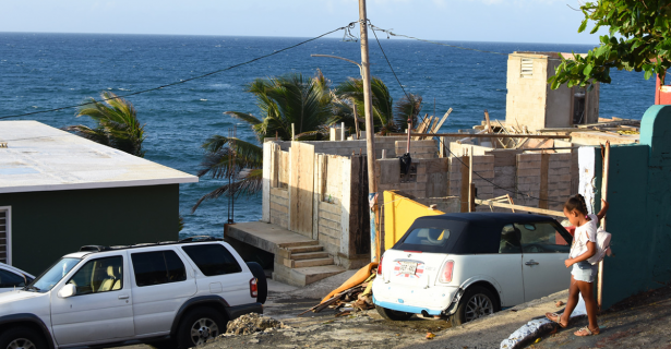 Temporary Fixes Post Hurricane Maria By Katlyn Kreie (A'19)