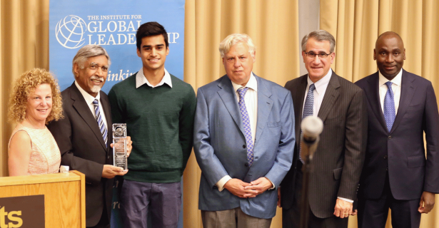 Mac Maharaj Discusses Peace-Making and Justice with the Tufts Community