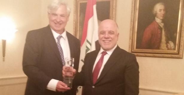 Iraqi Prime Minister Awarded Robert and JoAnn Bendetson Public Diplomacy Award