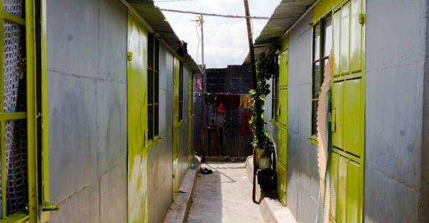 George and Monica's KKL homes are the best current example of how KKL can transform a neighborhood.