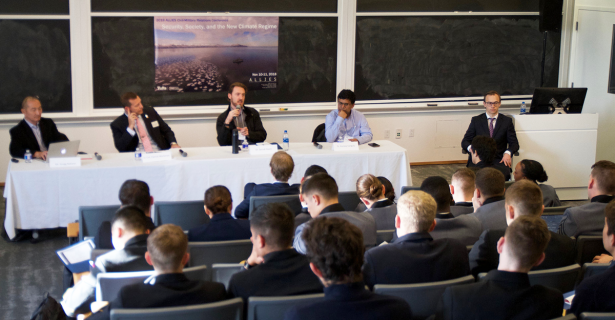 """5th Annual ALLIES Civil Military Relations Conference on """"Security, Society and the New Climate Regime"""" by Dylan Miles (A'21)"""