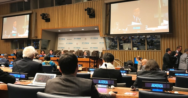 Attending the Multi-stakeholders Forum on Science, Technology and Innovation at the United Nations by Jiaxun (Leila) Li (A'19)