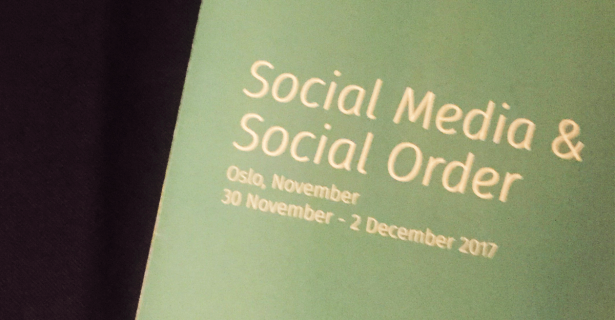 "The Fine Line Between the Digital and ""Real"" World: Social Media and Social Order in Oslo, Norway by Shaan Merchant"
